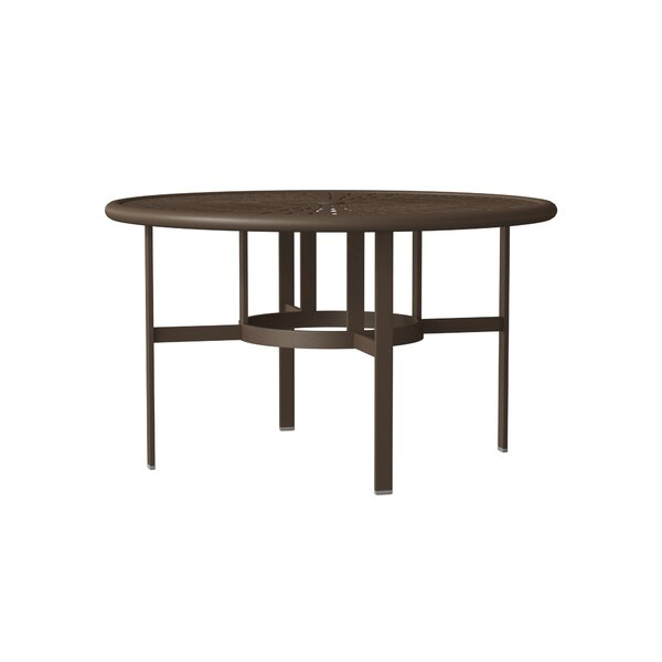 LaStratta Metal Dining Table by Tropitone