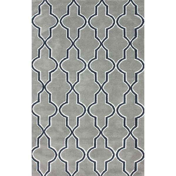 Block Island Gray Area Rug by nuLOOM