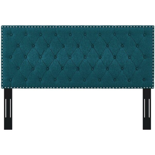 Nyberg Queen Upholstered Panel Headboard by Charlton Home