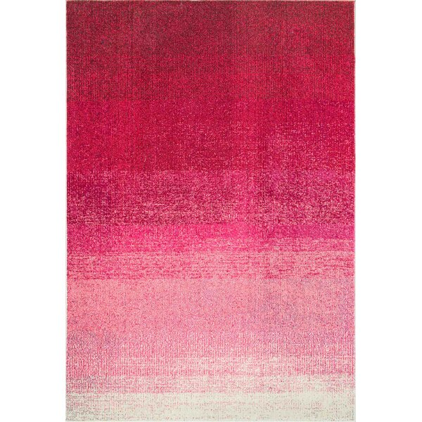 Angelina Pink Area Rug by Harriet Bee