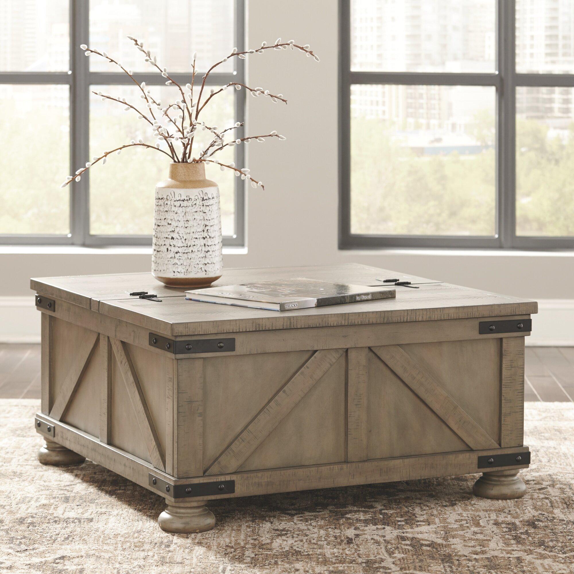 - Laurel Foundry Modern Farmhouse Emiliano Lift Top Coffee Table