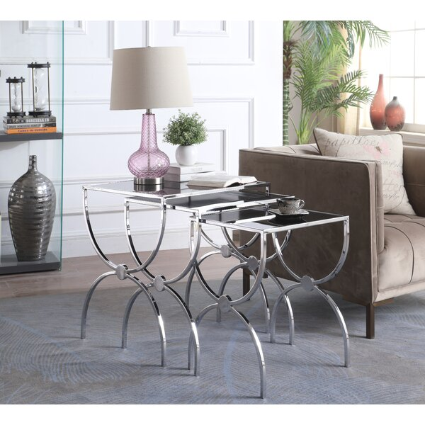 Laforce 3 Piece Nesting Tables by Everly Quinn