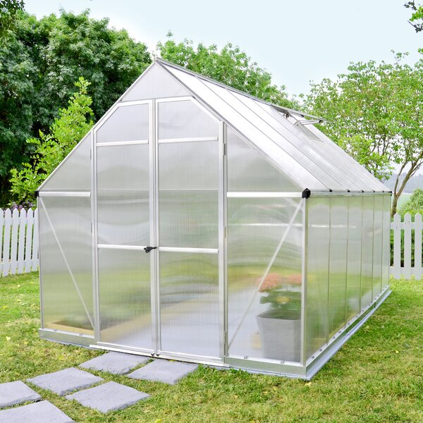 Essence 8 Ft. W x 12 Ft. D Greenhouse by Palram