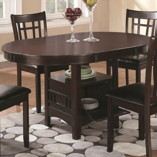 Jefferies Extendable Solid Wood Dining Table by Winston Porter