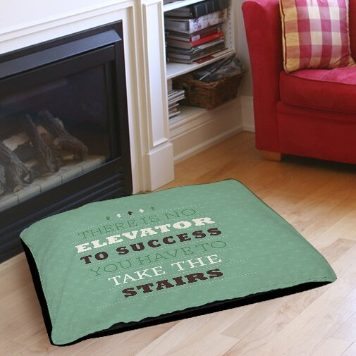 Take the Stairs Indoor/Outdoor Pet Bed by Manual Woodworkers & Weavers