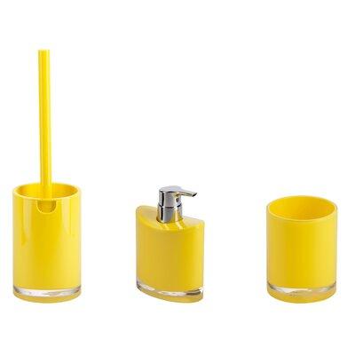 yellow bathroom accessories.  https secure img1 ag wfcdn com im 23631118 resiz