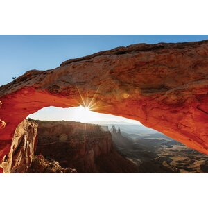 'Mesa Arch at Sunrise II, Canyonlands National Park, Utah, USA' Photographic Print on Wrapped Canvas by East Urban Home