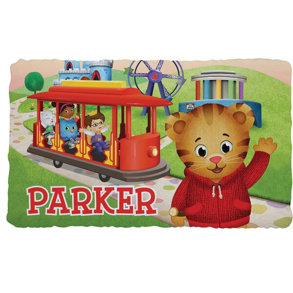 Personalized Daniel Tiger and Friends Fuzzy Throw by CPS