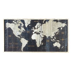 World Traveler Wall Art by Birch Lane™