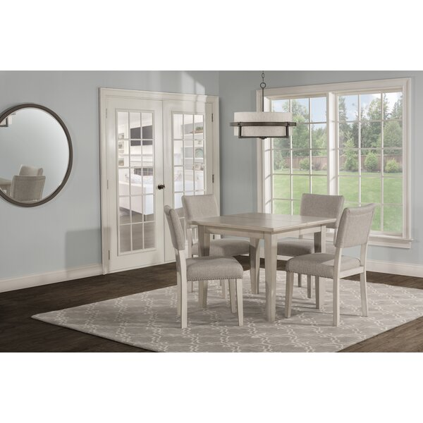 Jill 5 Piece Extendable Dining Set by House of Hampton