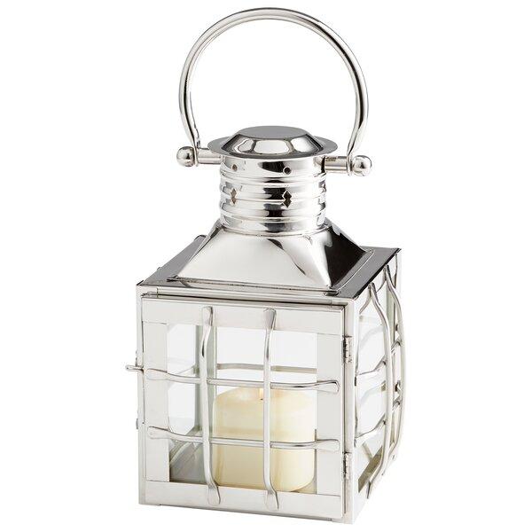 Remington Stainless Steel/Glass Lantern by Cyan Design