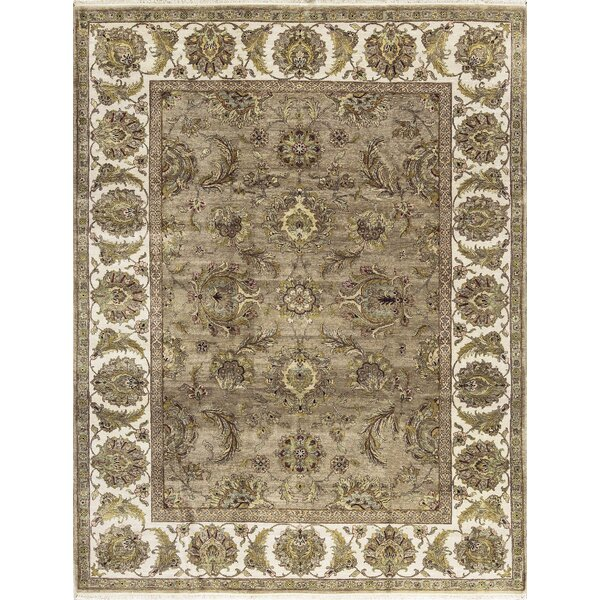 One-of-a-Kind Mountain King Hand-Knotted Wool Camel/Ivory Area Rug by Bokara Rug Co., Inc.