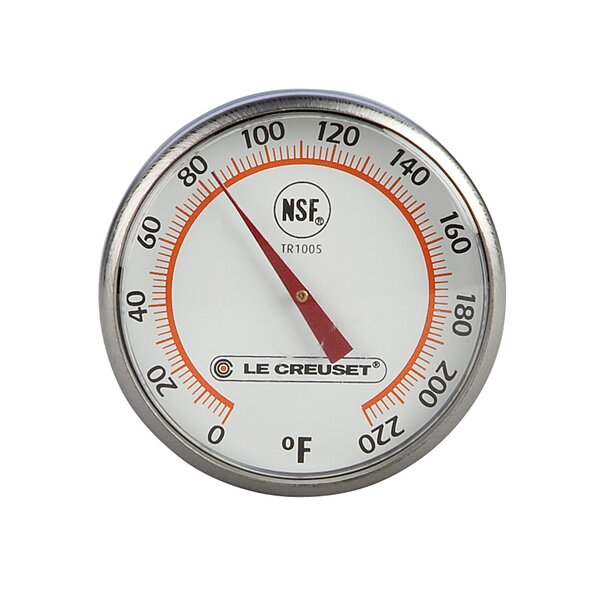 Dial Meat Analog Instant Thermometer by Le Creuset