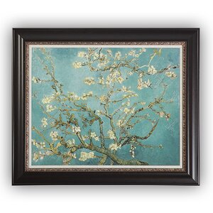 'Almond Blossom' by Vincent Van Gogh Framed Painting Print by Wexford Home