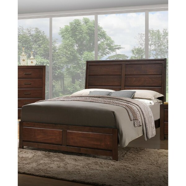 Mittler Immaculate Wooden Standard Bed by Gracie Oaks