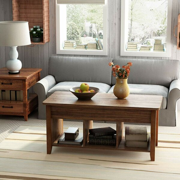 Stockton Lift Top Coffee Table by Union Rustic