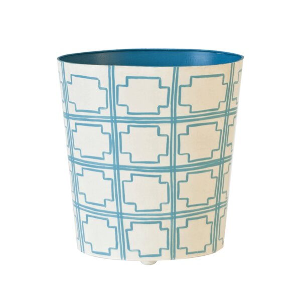 Waste Basket by Worlds Away