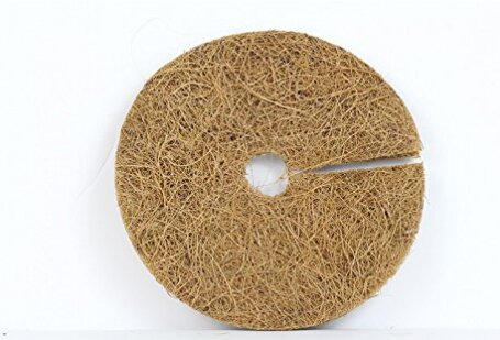 Coco Coir Fiber Tree Ring for Weed Control/Plant Cover/Coco Liner Mulch Mat by Envelor Home