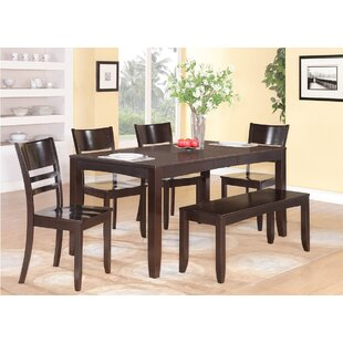 Kitchen table and bench set wayfair lockmoor dining table set workwithnaturefo