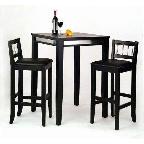 Henry 3 Piece Pub Table Set by Latitude Run