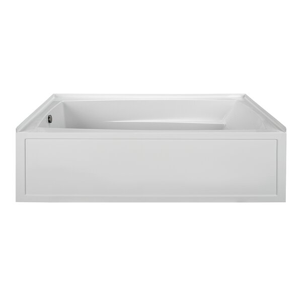 Integral Skirted End Drain 72.25 x 36.25 Soaking Bath by Reliance