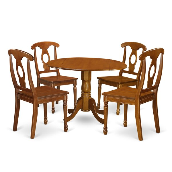 Super Spruill 5 Piece Dining Set By August Grove Find Rustic Andrewgaddart Wooden Chair Designs For Living Room Andrewgaddartcom