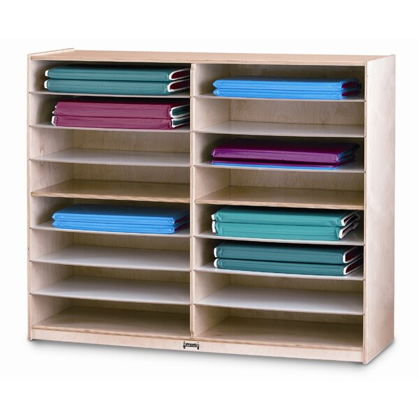 16 Compartment Shelving Unit by Jonti-Craft