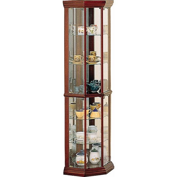 Benton City Corner Curio Cabinet by Wildon Home®