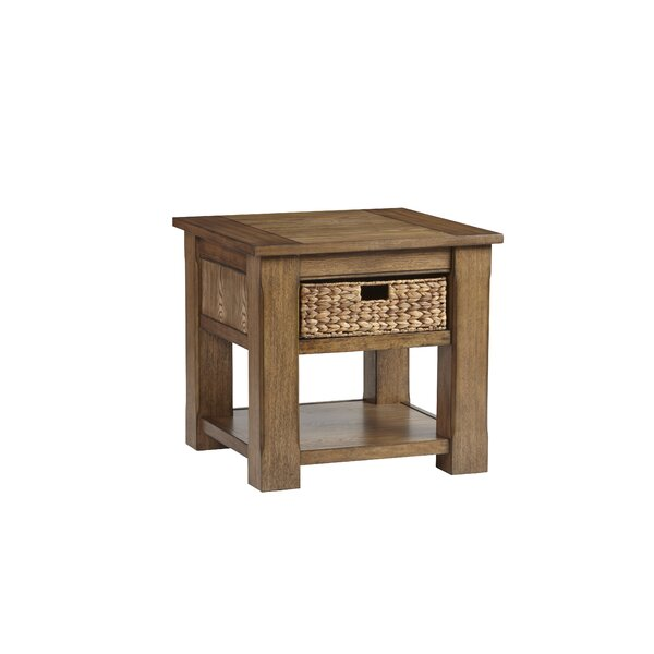 Croyle End Table by Breakwater Bay