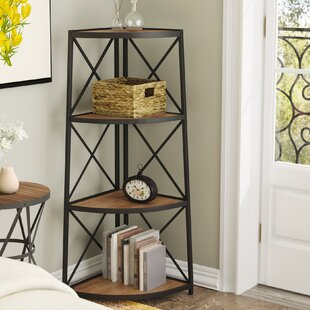Woodfin Corner Bookcase by Gracie Oaks Best Choices