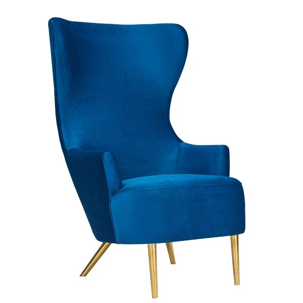 Julia Wingback Chair by Inspire Me! Home Dcor Inspire Me! Home Décor