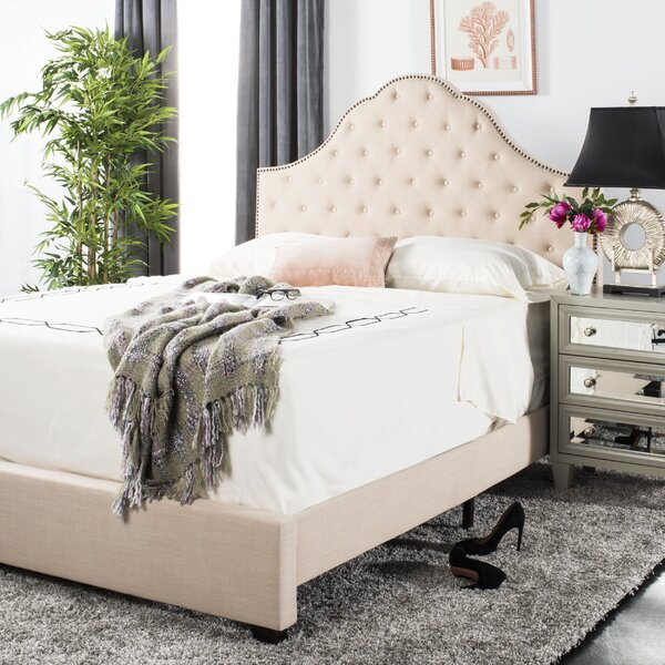Boniface Upholstered Standard Bed by Lark Manor