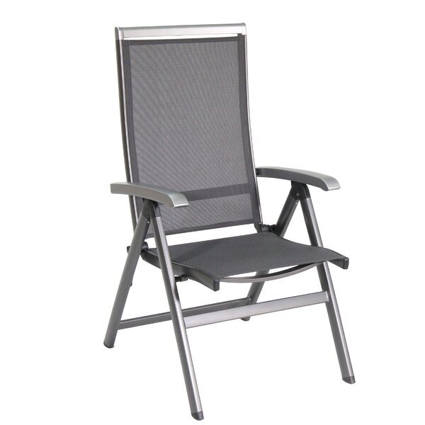 Brisy Folding Patio Dining Chair by Royal Garden