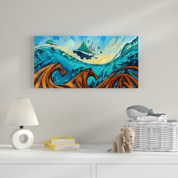 Graphic Art Print on Wrapped Canvas by Zoomie Kids