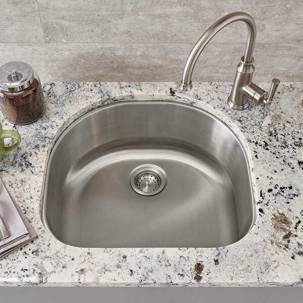 Portsmouth 23 L x 21 W Single Bowl Undermount Kitchen Sink by American Standard