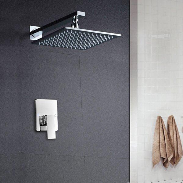 Amancio Munich Rainfall Thermostatic Pressure-Balanced Shower Faucet By FontanaShowers