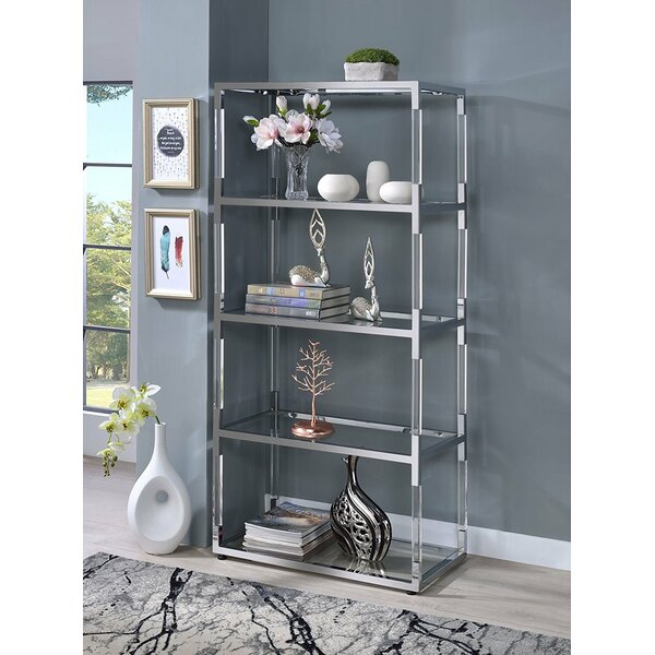 Magallanes Modern Standard Bookcase by Rosdorf Park