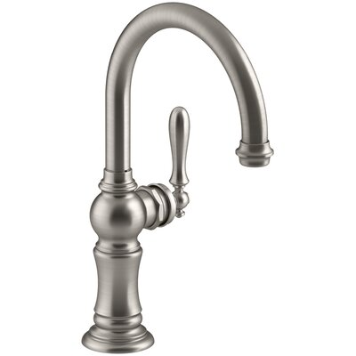 Sink Faucet Single Bar Stainless photo