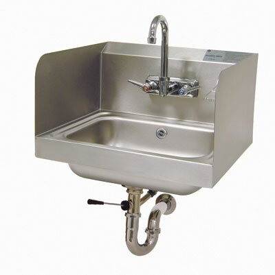 17.25 x 15.25 Wall Mounted Handwash Station with Faucet by Advance Tabco