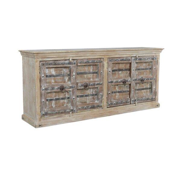 Hesser 87.5'' Wide Mango Wood Sideboard