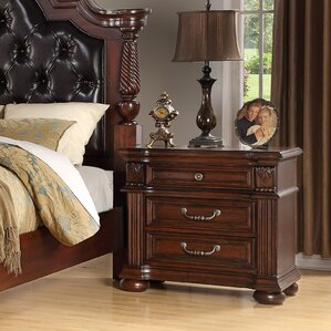 Casa del Mar 3 Drawer Nightstand by Fairfax Home Collections