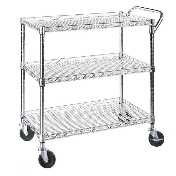 UltraZinc Shelf Commercial Utility Cart by Seville Classics