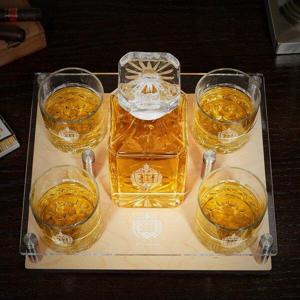 Baylis Monogram 6 Piece Beverage Serving Set by Canora Grey