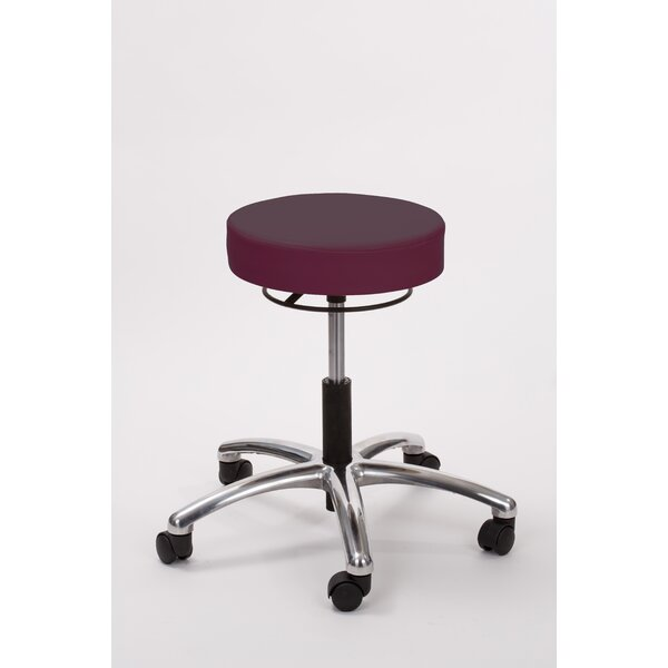 Height Adjusts Brandt Airbuoy Pneumatic stool with ring release by Brandt Industries