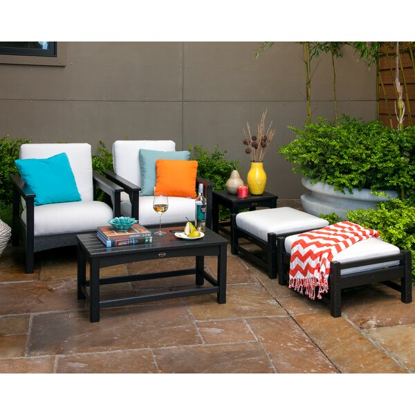 Club 6 Piece Conversation Set with Cushions by POLYWOOD®