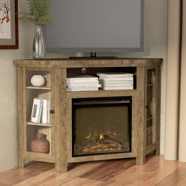 Tieton Corner 48 TV Stand with Fireplace by Mistana