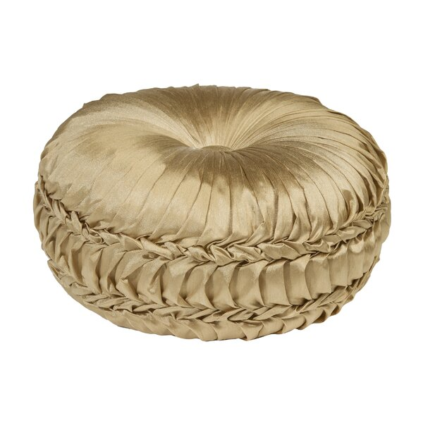 Acamar Tufted Round Floor Pillow by Astoria Grand