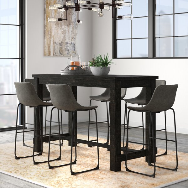 Bamey 7 Piece Pub Table Set by Trent Austin Design
