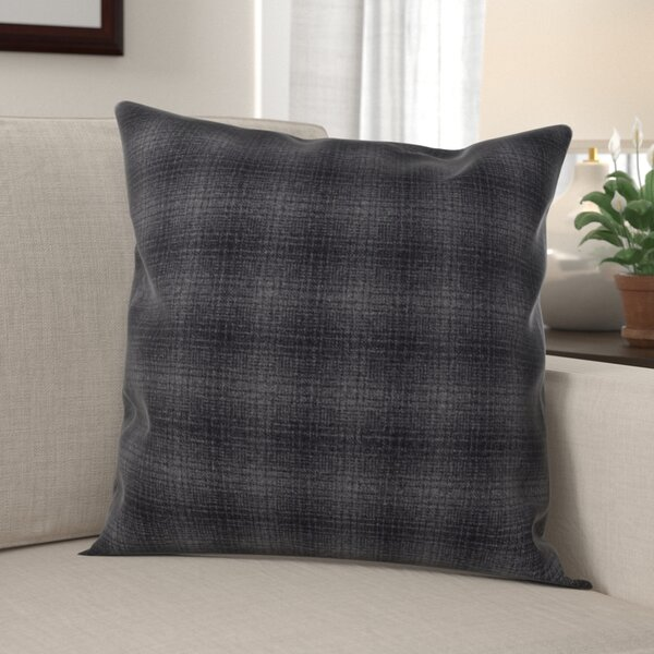 Celeste Plaid Design Throw Pillow By Millwood Pines.