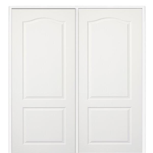Princeton MDF 2 Panel Primed Prehung Interior Door by Verona Home Design